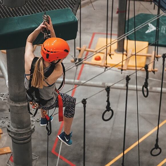 High Ropes & Ziplines