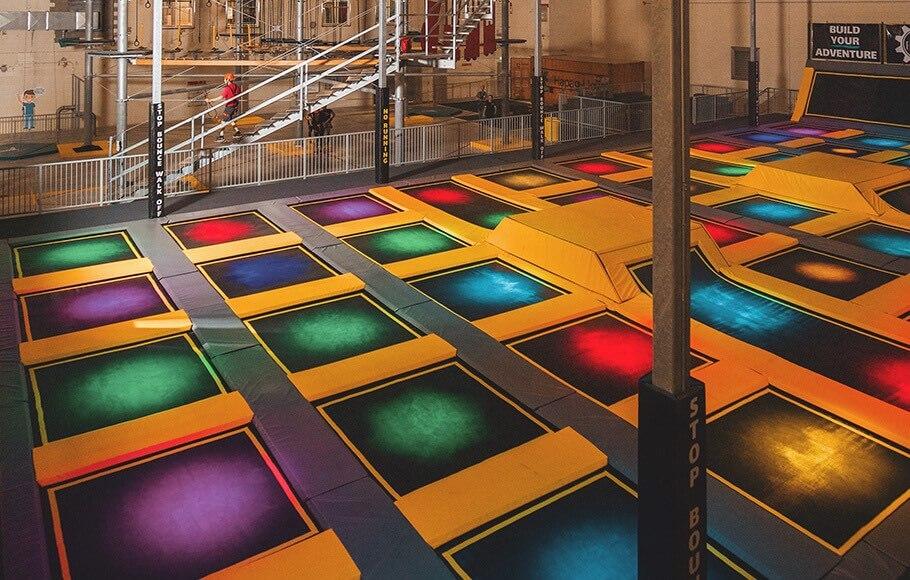 Indoor Trampoline Park In London Ontario The Factory